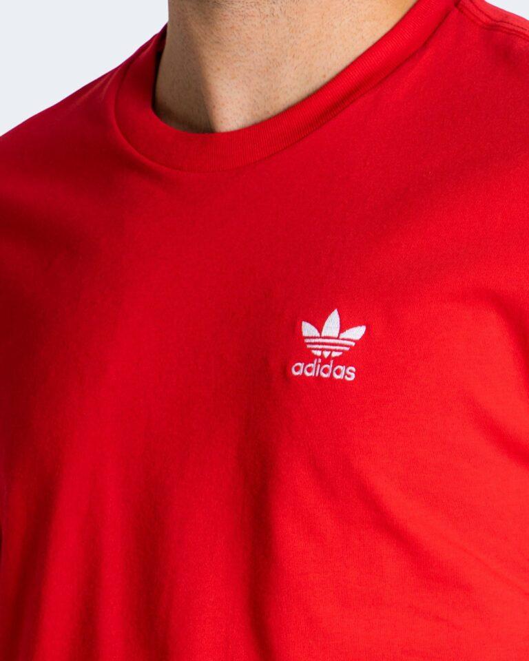 T-shirt Adidas ESSENTIAL Rosso - Foto 3