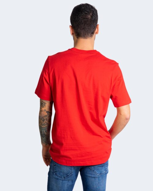 T-shirt Adidas ESSENTIAL Rosso - Foto 4