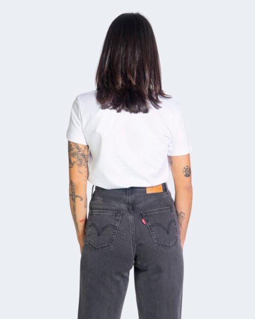 T-shirt Calvin Klein Jeans SHINE LOGO Bianco - Foto 2