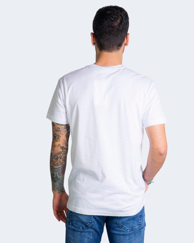 T-shirt Calvin Klein Jeans SMALL CHEST MONOGRAM Bianco - Foto 3