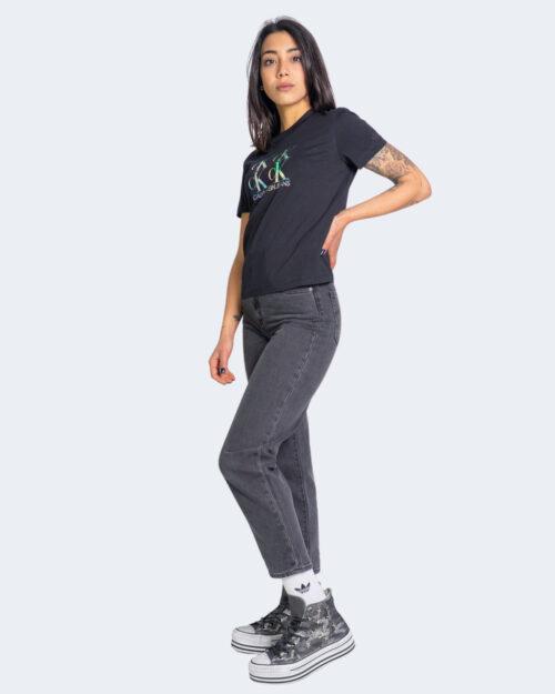 T-shirt Calvin Klein SHINE LOGO Nero – 64594