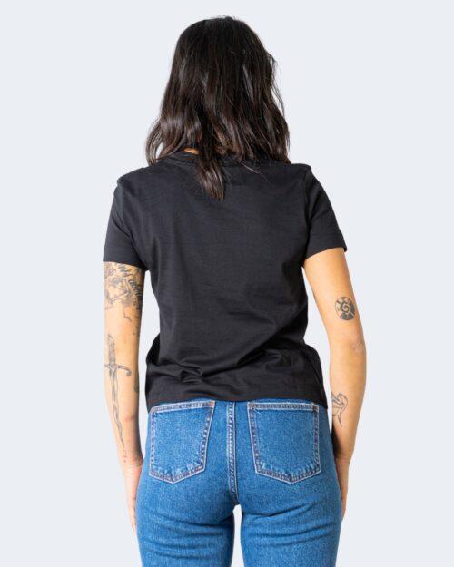 T-shirt Calvin Klein Jeans SHRUNKEN INSTITUTION Nero - Foto 2