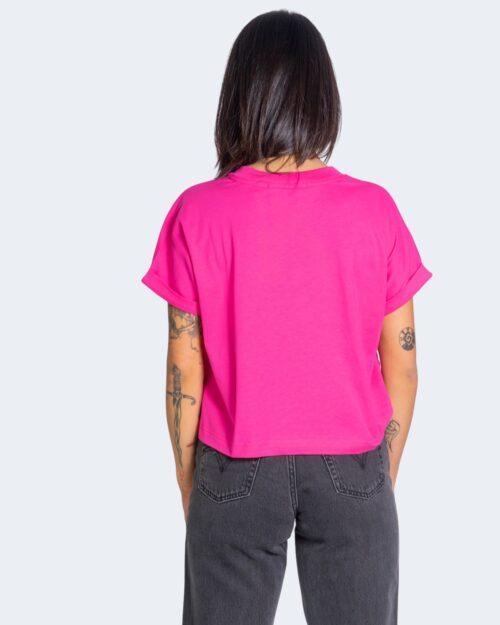 T-shirt Calvin Klein TONAL MONOGRAM Rosa – 64604