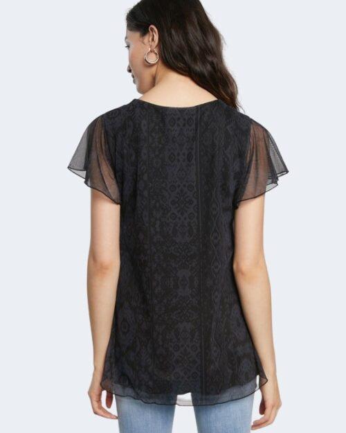 T-shirt Desigual NORTE Nero – 65550