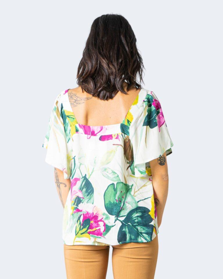 T-shirt Desigual ERICA Verde - Foto 2