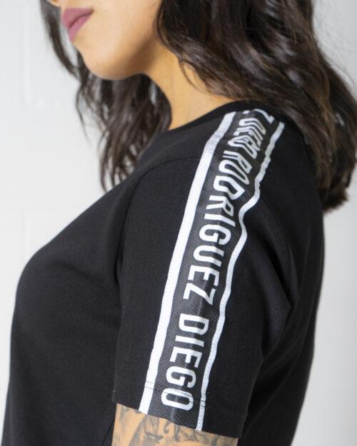 T-shirt Diego Rodriguez LOGO SPALLA Nero – 71214