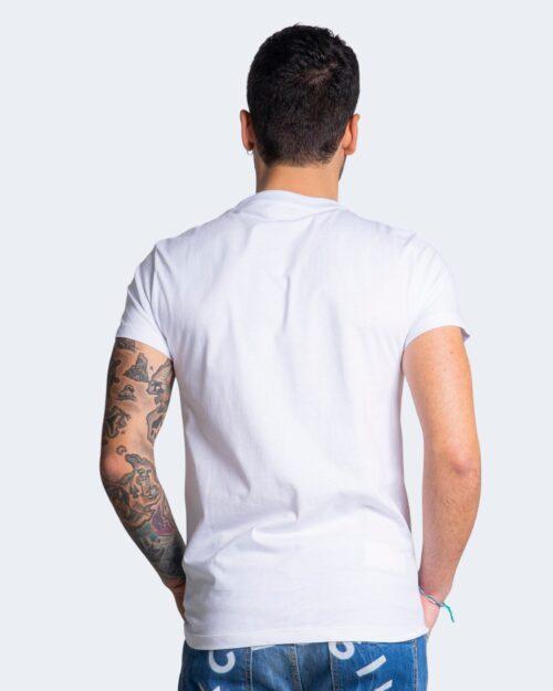 T-shirt Exclusive Paris LOGO ANIMALIER Bianco – 70304