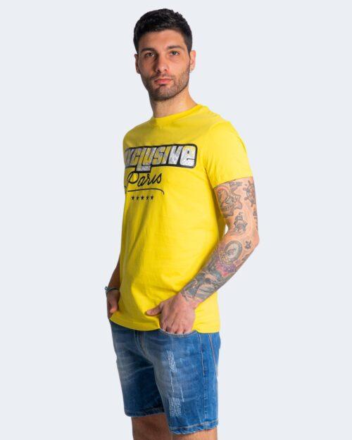 T-shirt Exclusive Paris LOGO ANIMALIER Giallo – 70304