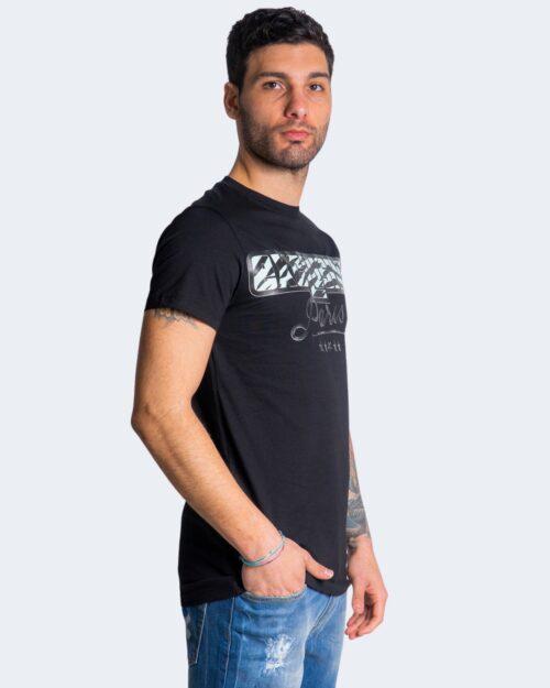 T-shirt Exclusive Paris LOGO ANIMALIER Nero – 70304