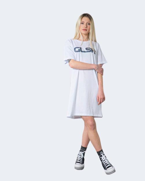 Vestito corto Glsr MAXI T-SHIRT Bianco – 53426