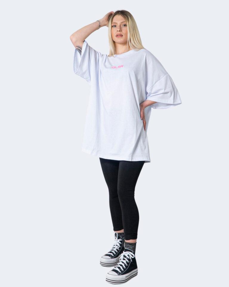 T-shirt GLSR TEE OVER Bianco - Foto 1