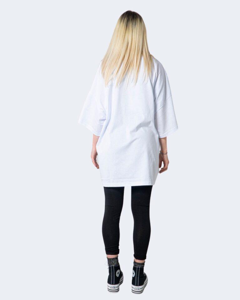 T-shirt GLSR TEE OVER Bianco - Foto 2