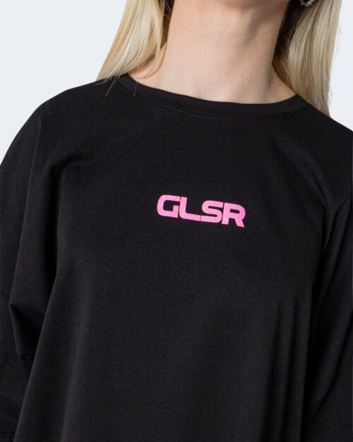 T-shirt GLSR TEE OVER Nero - Foto 3