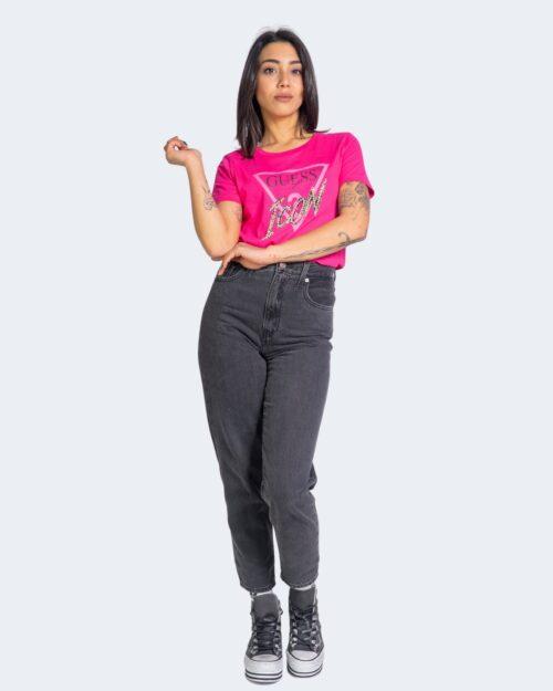 T-shirt Guess ICON Fuxia – 64156