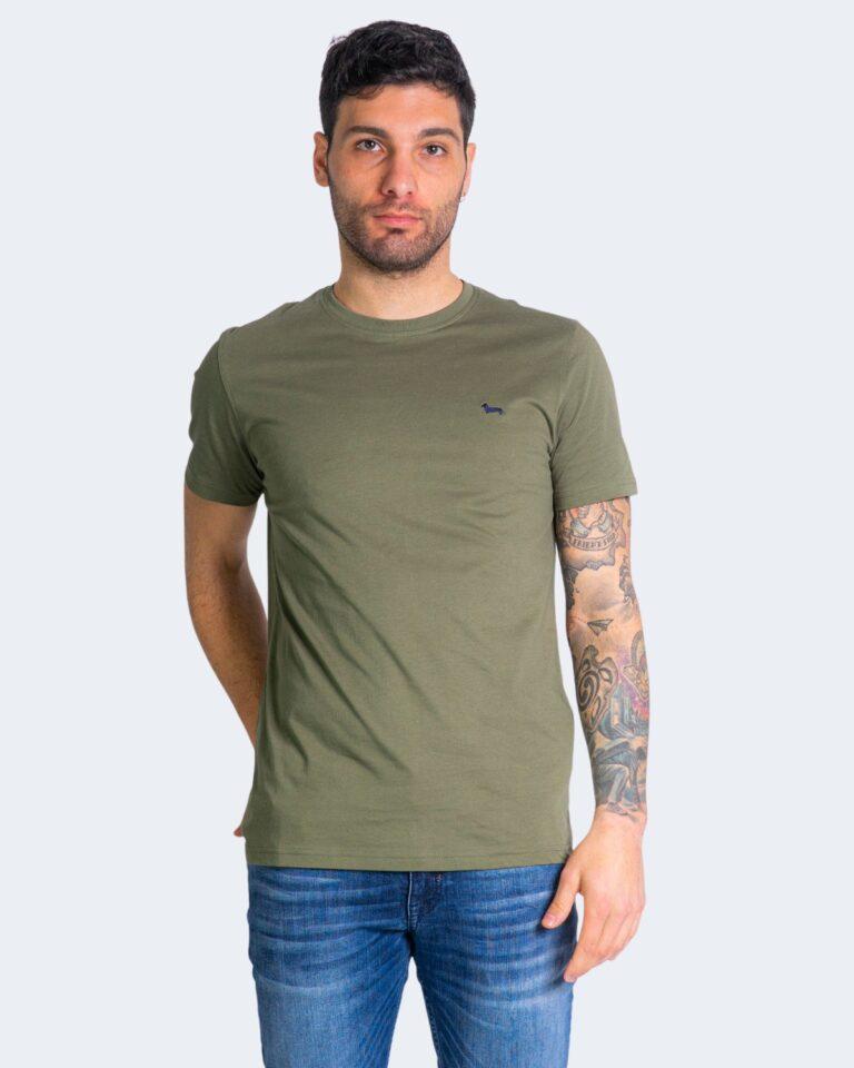 T-shirt Harmont&Blaine - Verde Oliva - Foto 1