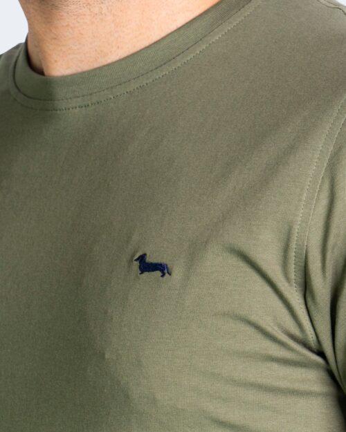T-shirt Harmont&Blaine - Verde Oliva - Foto 4