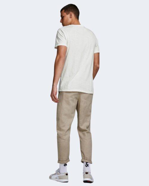 T-shirt Jack Jones ESPLIT NECK TEE SS NOOS Panna – 39645