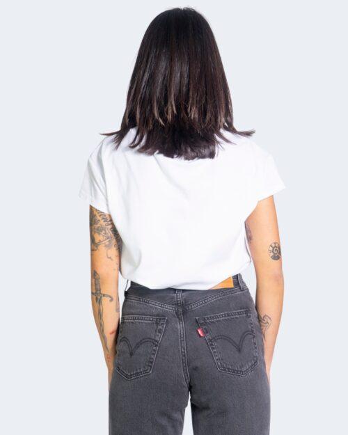 T-shirt Love Moschino LOGO CUORE Bianco – 68049