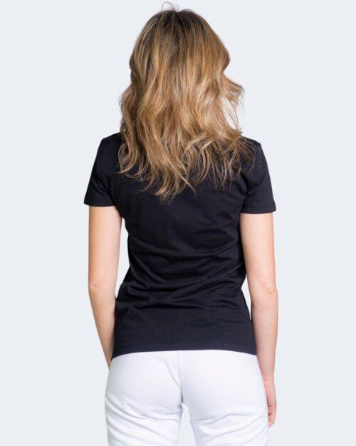 T-shirt Love Moschino STRISCIA LOGO Nero – 70302
