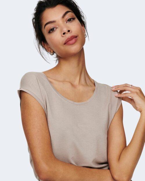 T-shirt Jacqueline de Yong RUNA Beige - Foto 3