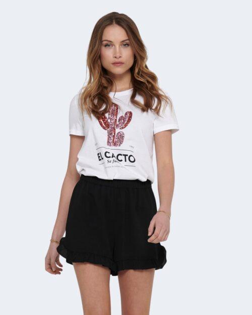 T-shirt Only KITA Bianco - Foto 1