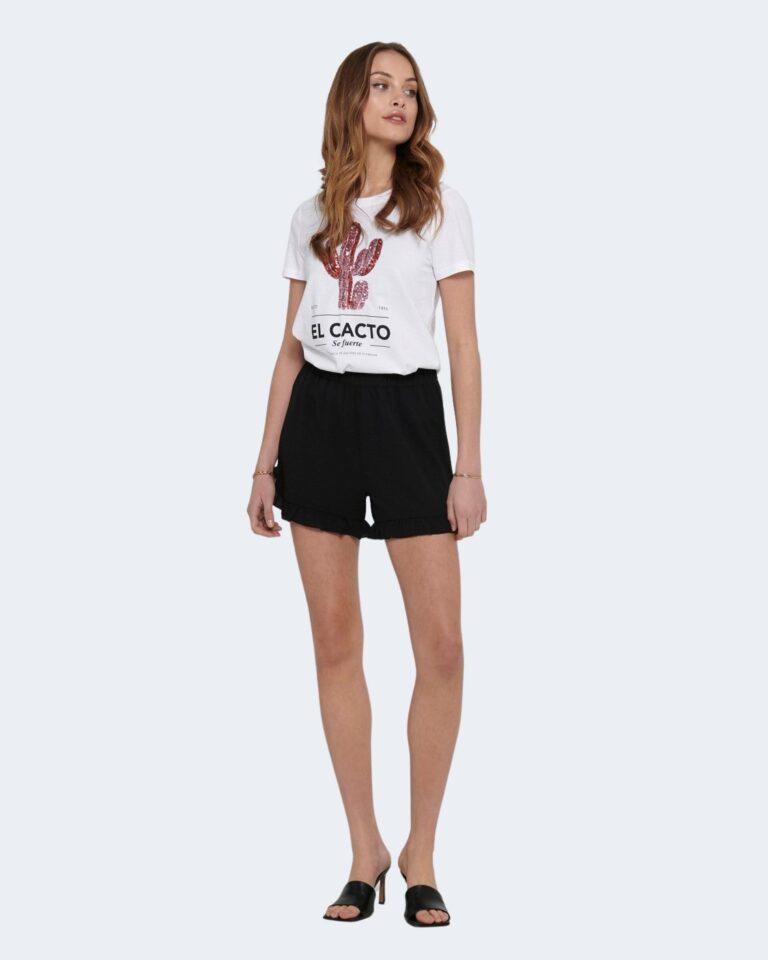 T-shirt Only KITA Bianco - Foto 3