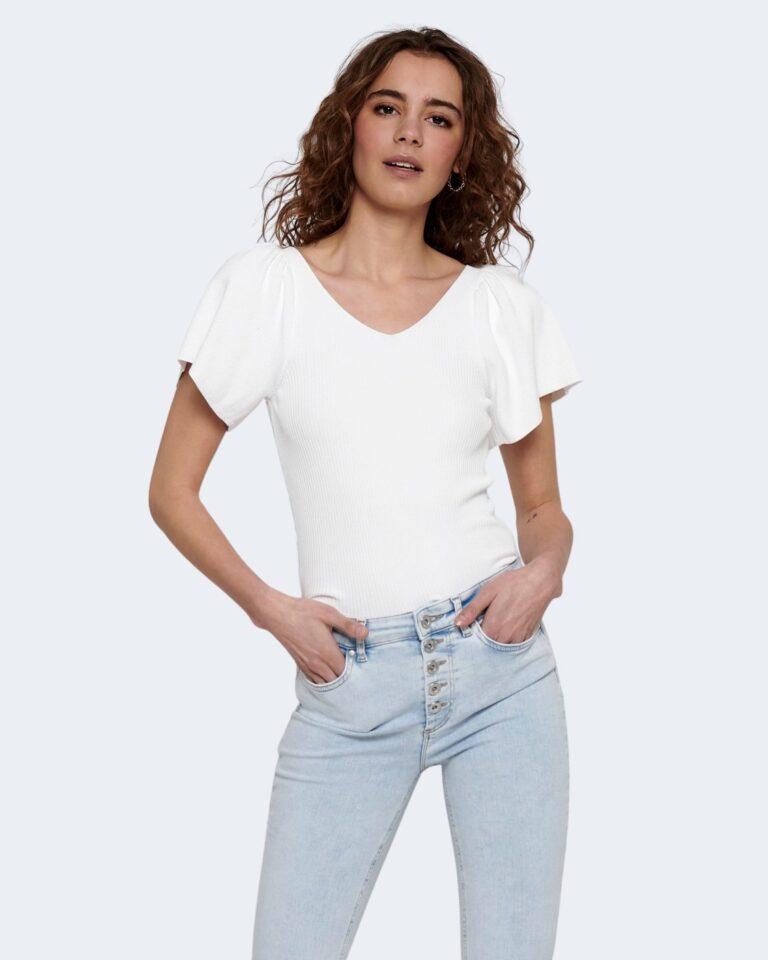 T-shirt Only LEELO Bianco - Foto 1