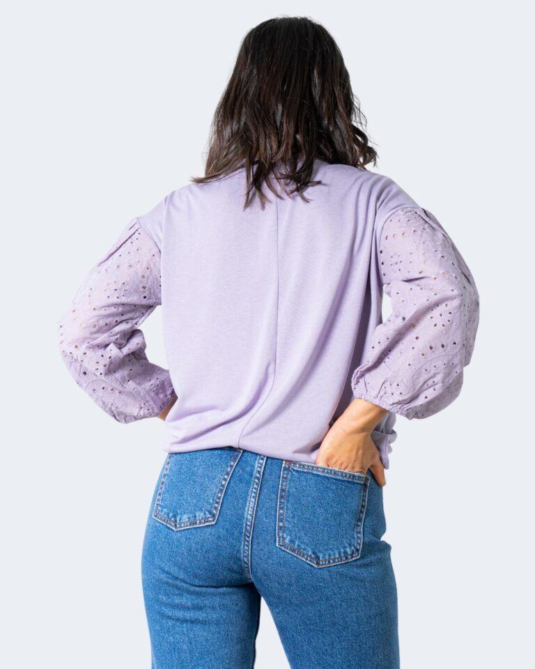 T-shirt Jacqueline de Yong SACRAMENTO Lilla - Foto 2