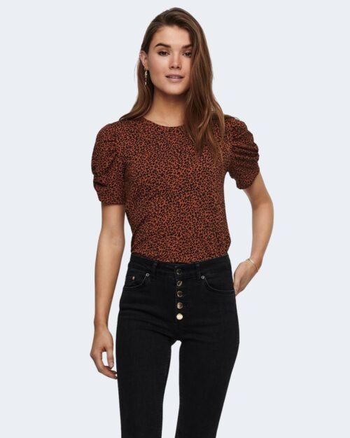 T-shirt Jacqueline De Yong KIRKBY Mattone – 63414