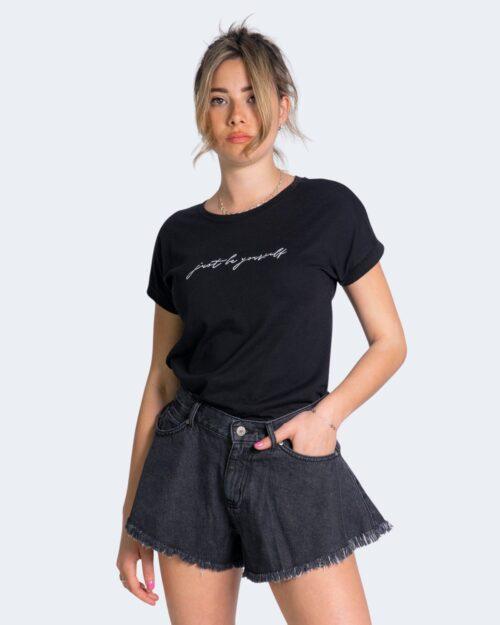 T-shirt Jacqueline de Yong LOUISA Nero - Foto 1