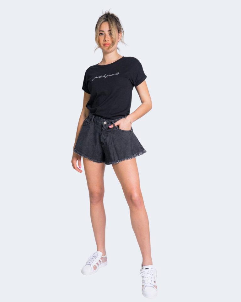 T-shirt Jacqueline de Yong LOUISA Nero - Foto 2