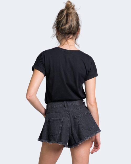 T-shirt Jacqueline de Yong LOUISA Nero - Foto 3