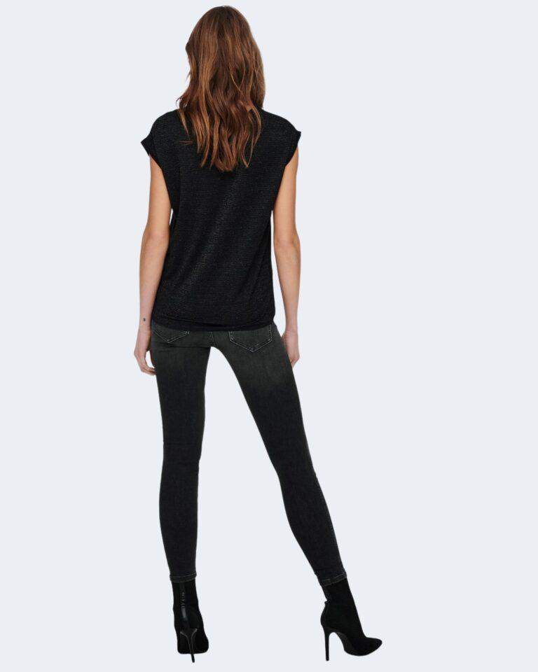 T-shirt Jacqueline de Yong RUNA Nero - Foto 4