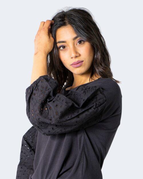 T-shirt Jacqueline de Yong SACRAMENTO Nero - Foto 4