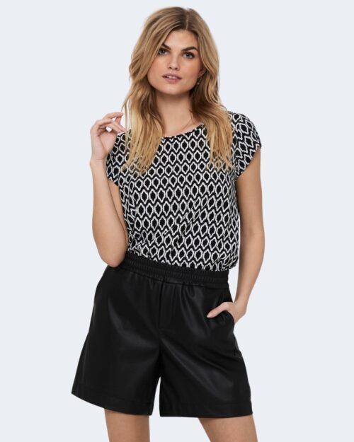 T-shirt Only ONLVIC Nero – 63412