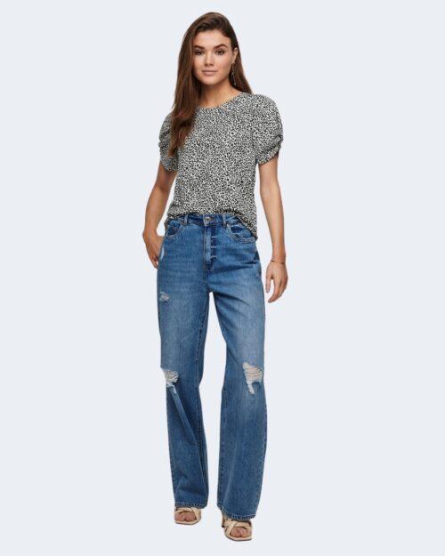 T-shirt Jacqueline De Yong KIRKBY Panna – 63414