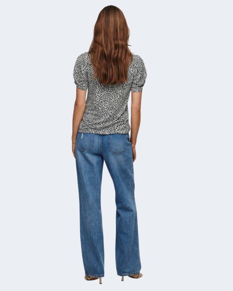 T-shirt Jacqueline de Yong KIRKBY Panna - Foto 3