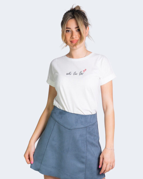 T-shirt Jacqueline de Yong LOUISA Panna - Foto 1
