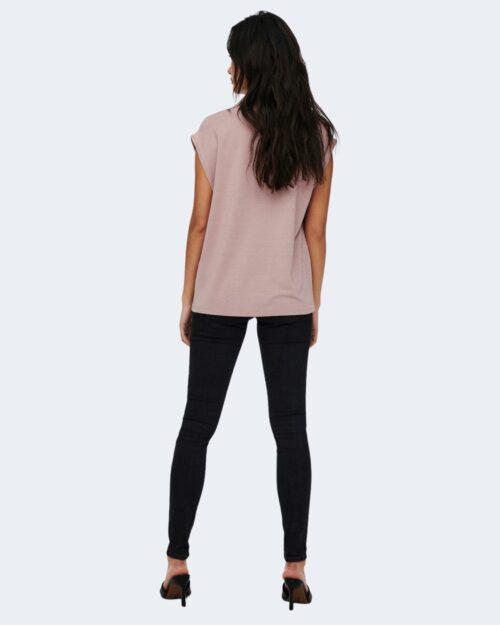 T-shirt Jacqueline de Yong RUNA Rosa - Foto 4