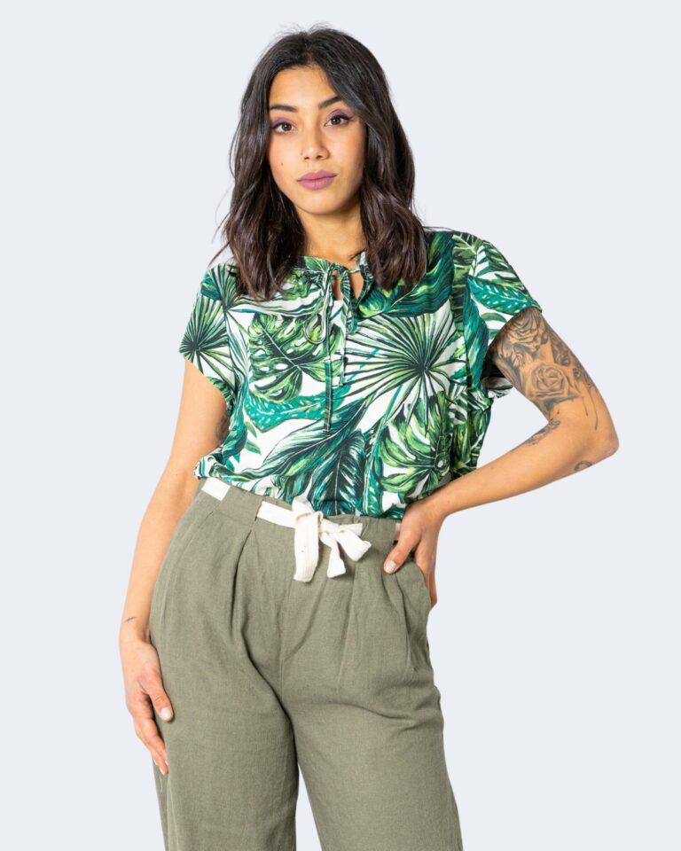 T-shirt Only ALMA Verde - Foto 1