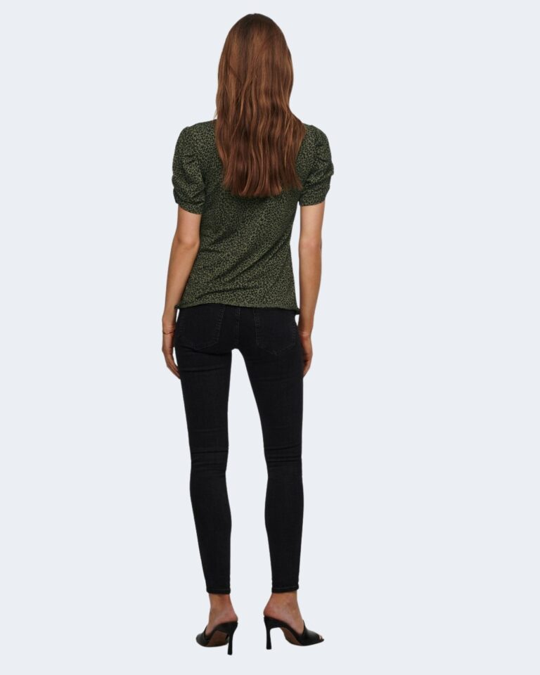 T-shirt Jacqueline de Yong KIRKBY Verde Oliva - Foto 3