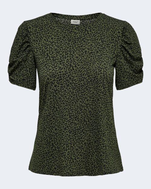 T-shirt Jacqueline de Yong KIRKBY Verde Oliva - Foto 4