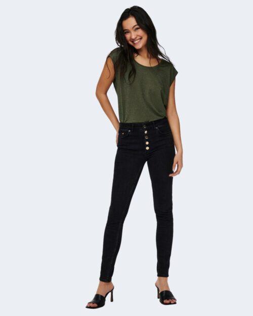 T-shirt Jacqueline De Yong RUNA Verde Oliva – 63424