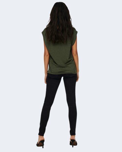 T-shirt Jacqueline de Yong RUNA Verde Oliva - Foto 4