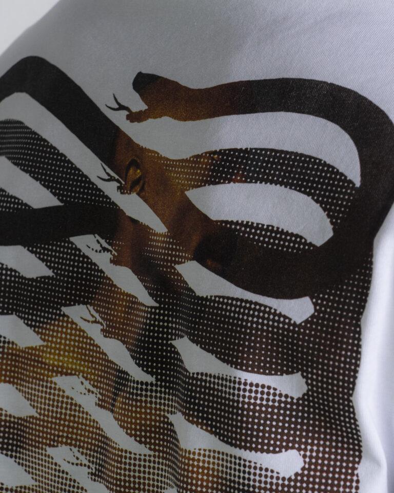 T-shirt Propaganda - Bianco - Foto 4