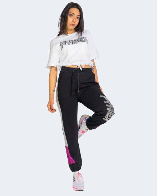 T-shirt Pyrex LOGO SWAROSKI Bianco – 69293