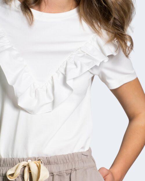 T-shirt Sandro Ferrone COUNTRY Bianco – 68916