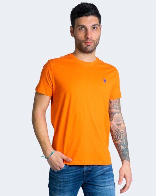 T-shirt U.S. Polo Assn. HORSE LOGO Arancione - Foto 1