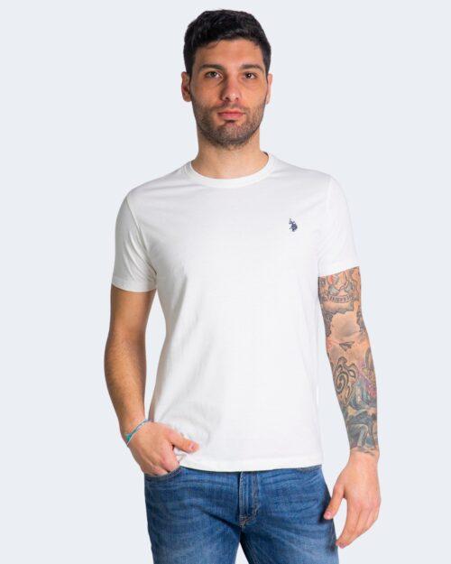 T-shirt U.S. Polo Assn. HORSE LOGO Bianco - Foto 1
