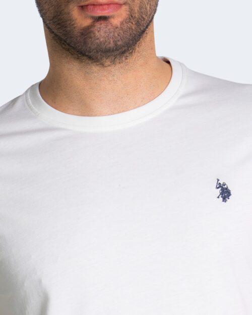 T-shirt U.s. Polo Assn. HORSE LOGO Bianco – 67803
